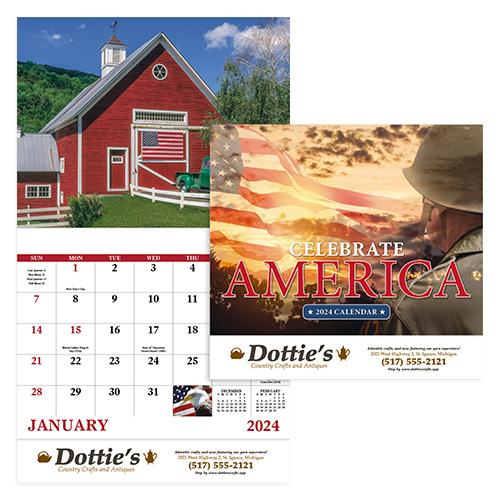 16009 - Celebrate America Calendar