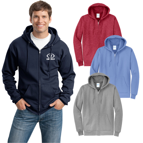 16603 - Port & Company® - Core Fleece Full-Zip Hooded Sweatshirt
