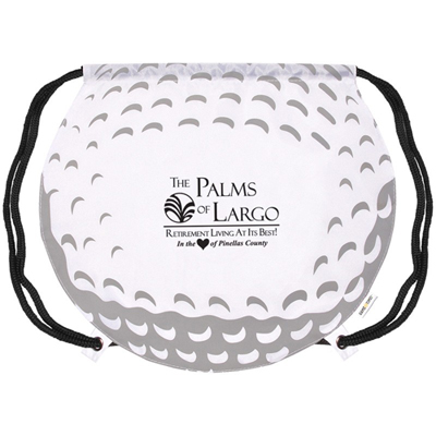 18315 - GameTime! Golf Ball Drawstring Bag