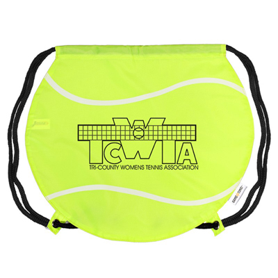 18316 - GameTime! Tennis Ball Drawstring Backpack