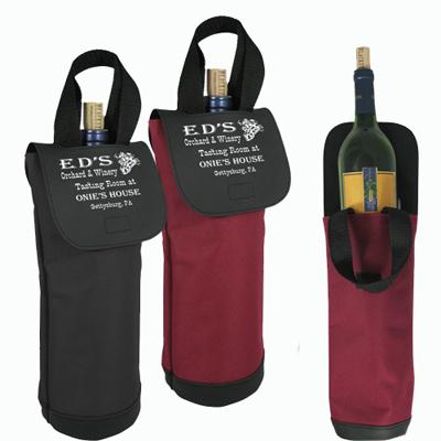 18337 - The Vineyard Single Bottle Wine Tote