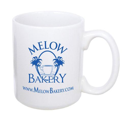 18340 - Sumatra 11 oz. White Coffee Mug