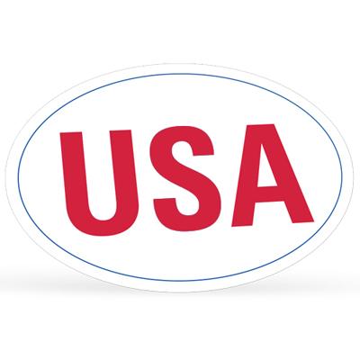 19689 - Oval Bumper Sticker
