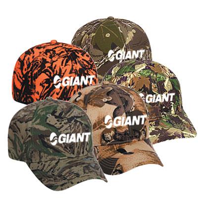 19869 - Camouflage Cotton Twill Cap