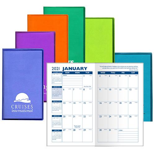 19995 - Translucent Monthly Pocket Planner