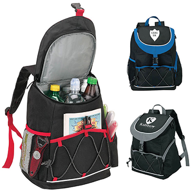 20284 - Adelene PEVA Lined Backpack Cooler