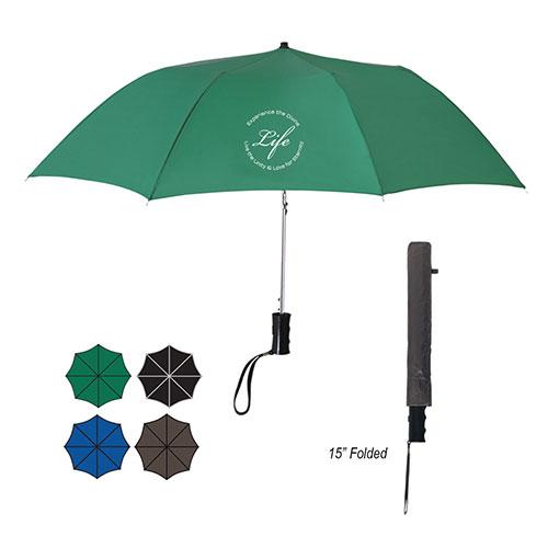 "20841 - 36"" Arc Telescopic Folding Automatic Umbrella"