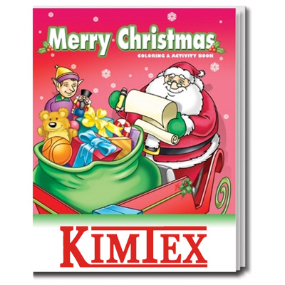 21634 - Merry Christmas Coloring Book