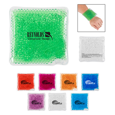 21865 - Square Gel Beads Hot/Cold Pack