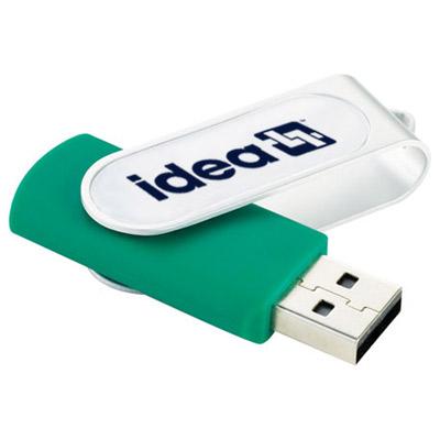 22382 - Epoxy Dome Rotate Flash Drive 4GB