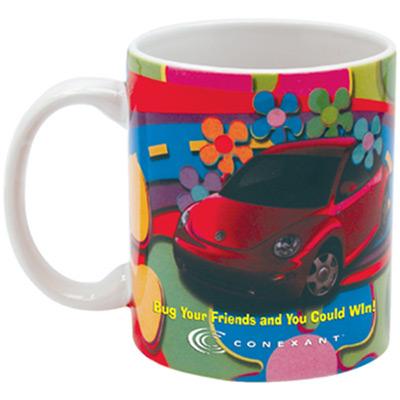 23086 - 11 oz. Full Color White Executive Mug