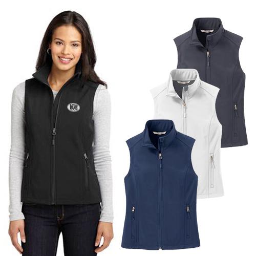 23557 - Port Authority® Ladies Core Soft Shell Vest