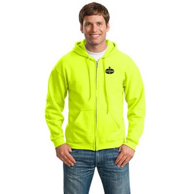 23650 - Gildan®- Heavy Blend™ Full-Zip Hooded Sweatshirt (Safety Green)