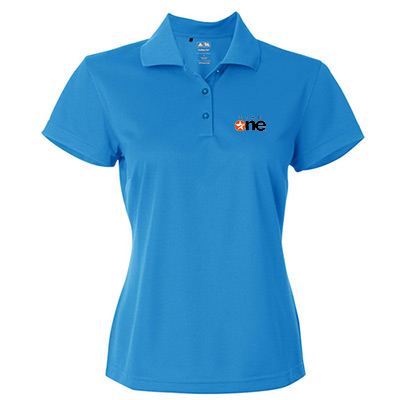 23675 - Adidas Golf Ladies ClimaLite® Pique Polo