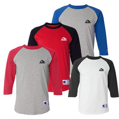 23689 - Champion Raglan Baseball T-Shirt