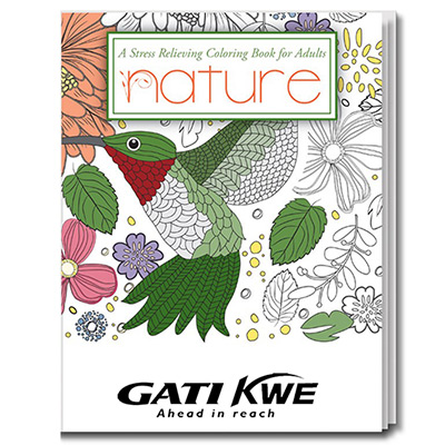 23937 - Stress Relieving Coloring Book for Adults - Nature