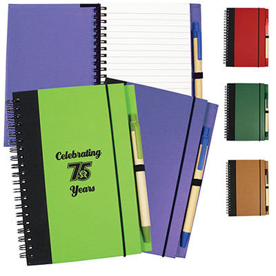 24086 - Contrast Paperboard Eco Journal