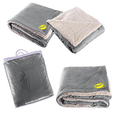 24094 - Micro Mink Sherpa Blanket