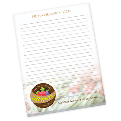 """24200 - Bic® 8.5"""" x 11"""" Non-Adhesive Scratch Pad (25 Sheets)"""
