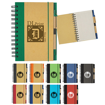 24648 - Eco-Inspired 5x7 Spiral Notebook
