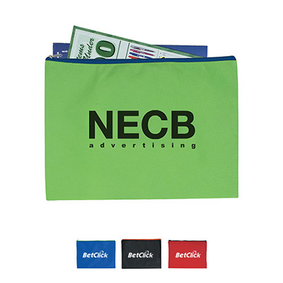 24651 - Non-Woven Document Sleeve With Zipper