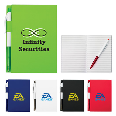 """24667 - 4"""" X 6"""" Notebook With Pen"""