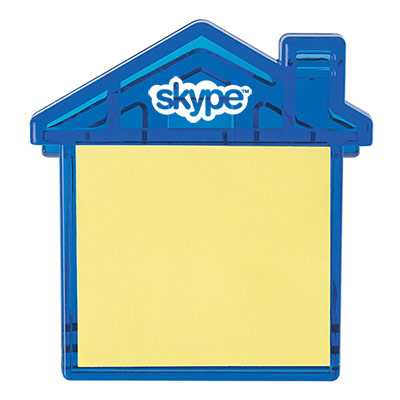 24783 - House Clip With Sticky Notes