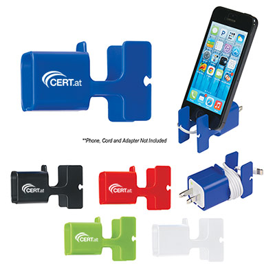 24786 - Phone Stand & Cord Wrap Combo