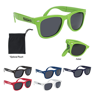 24795 - Folding Malibu Sunglasses