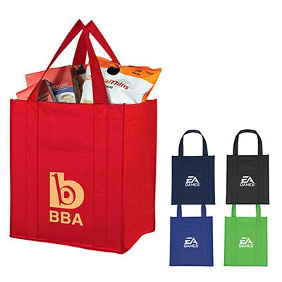 24811 - Matte Laminated Non-Woven Shopper Tote Bag