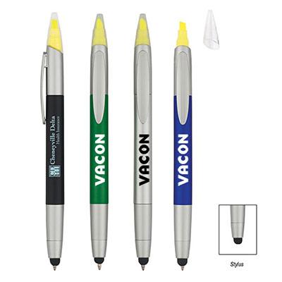 24826 - 3-In-1 Pen/Highlighter/Stylus