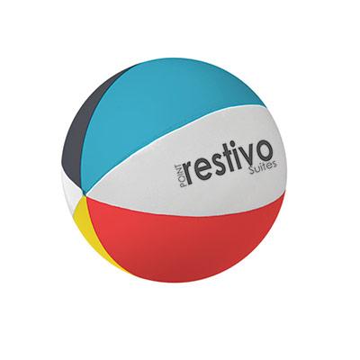 24942 - Beach Ball Shape Stress Reliever