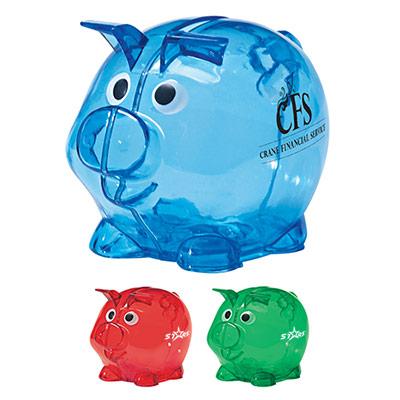 24961 - Mini Plastic Piggy Bank
