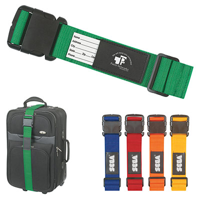 25001 - Luggage Strap with Bag Identifier