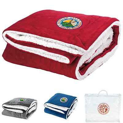 25416 - Sherpa Throw Blanket