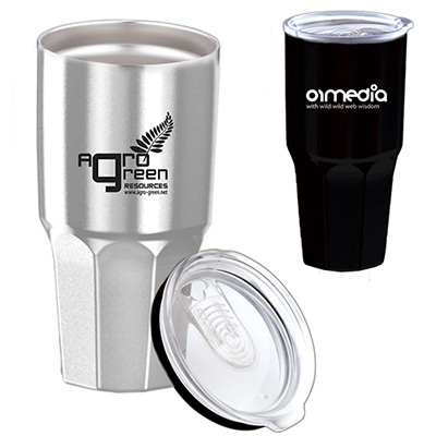 25452 - 30 oz. Goliath Double Wall Stainless Steel Tumbler