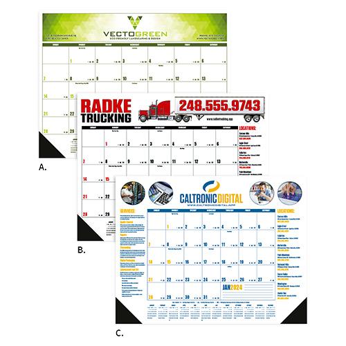 25677 - Multi-Colored Desk Pad