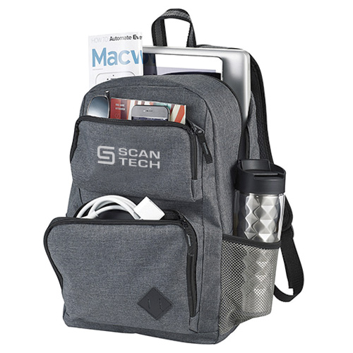 "25651 - Graphite Deluxe 15"" Computer Backpack"