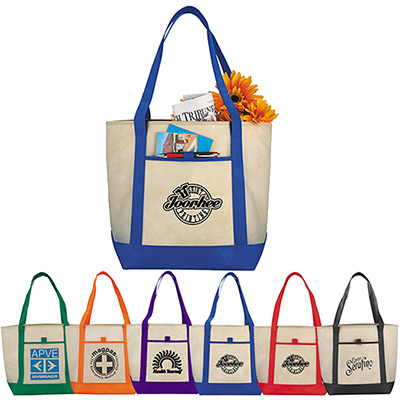 25771 - Lighthouse Non-Woven Boat Tote