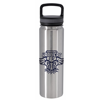 25897 - 24 oz. Vacuum Insulated Bottle with Carabiner Lid