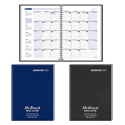 26295 - Ruled Monthly Format Wired Planner