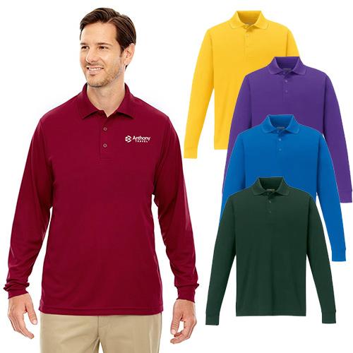 26478 - CORE365™ Pinnacle Long-Sleeve Polos