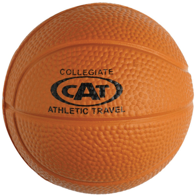 5125BK - Basketball Shape Stress Ball
