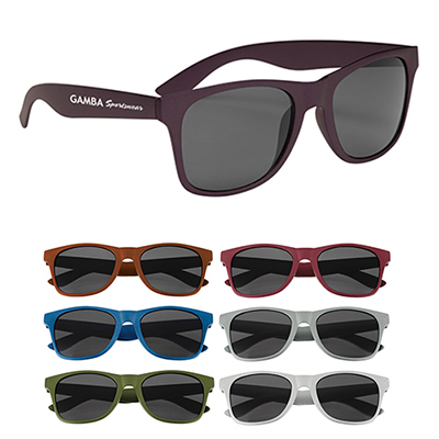 26576 - Matte Finish Malibu Sunglasses