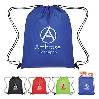 26766 - Insulated Drawstring Cooler Bag