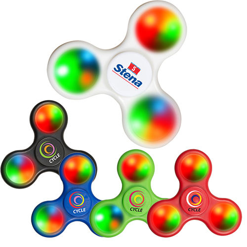 26900 - Real Cool Light-Up Fidget Spinner