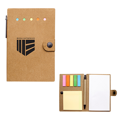 26890 - Small Snap Notebook with Desk Essentials