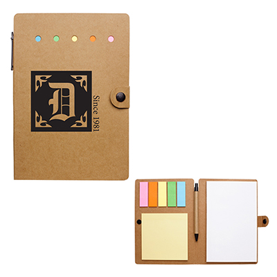 26910 - Large Snap Notebook with Desk Essentials
