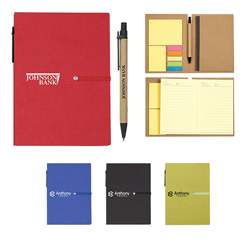 26920 - Notebook With Sticky Notes And Pen