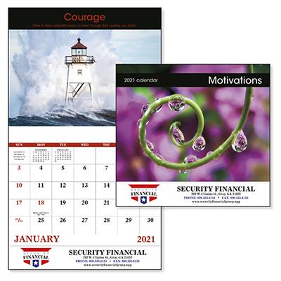 26960 - Motivations Stapled Calendar